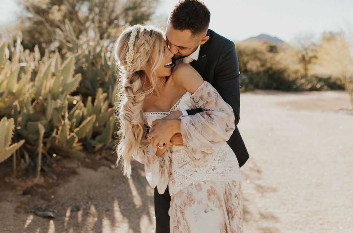 Boho chip wedding Ibiza