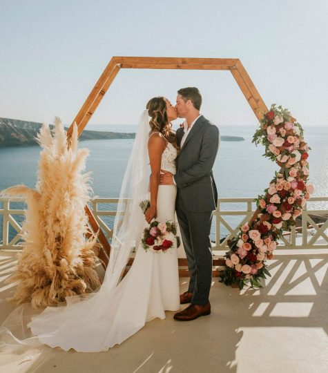 Ibiza sea view wedding
