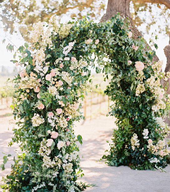 Ibiza wedding floral